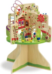 Stylish baby activity center