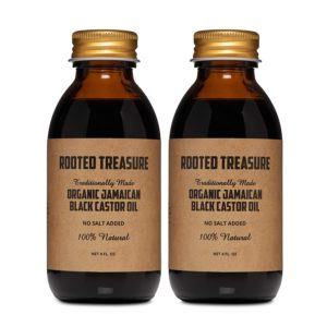 Rooted Treasure Organic Pure Jamaican Black Castor Oil