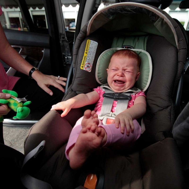 best convertible car seat for baby who hates car