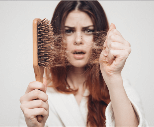 how to comb hair to avoid hair fall